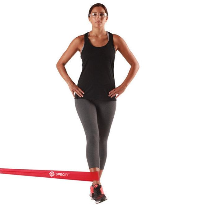 Dynaband light - Yogaband rood