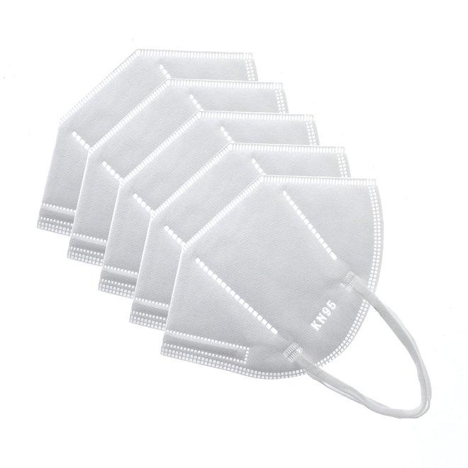 KN95 Mondmasker - Met neusclip - Gesealde verpakking met certificaat - 95%+ filtratie - KN95 Conform  EN 149:2001+A1:2009 Inclusief filtratierapport