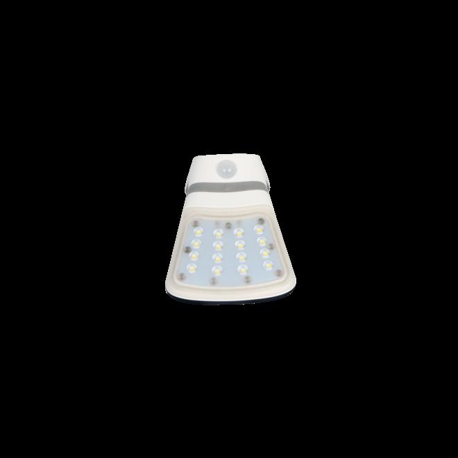 Specilights Solar LED Muurlamp met Bewegingssensor 2W - Voor- en achterkant verlicht - Met bewegingssensor