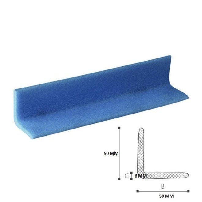Schuimprofiel L-vorm 50 mm x 50 mm x 6 mm doos met 240 stuks