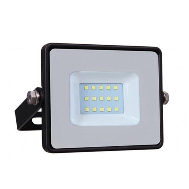 10W LED Bouwlamp Zwart - Waterdicht IP65 - 5 jaar garantie - 4000K