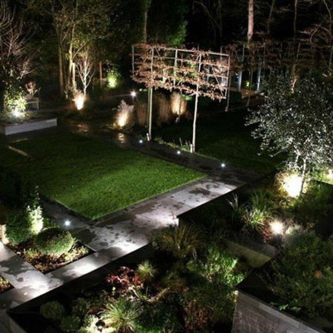 10W LED Bouwlamp Zwart - Waterdicht IP65 - 5 jaar garantie - 6000K