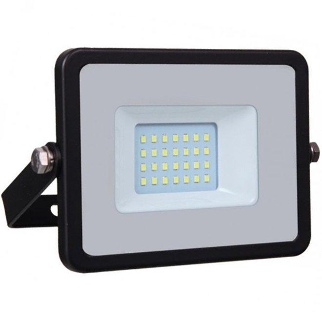20W LED Bouwlamp Zwart - Waterdicht IP65 - 5 jaar garantie