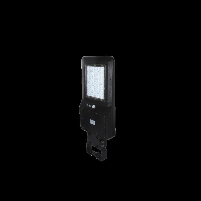 LED Straatlamp 40W met ingebouwd zonnepaneel en accu - IP65 met bewegingssensor en remote