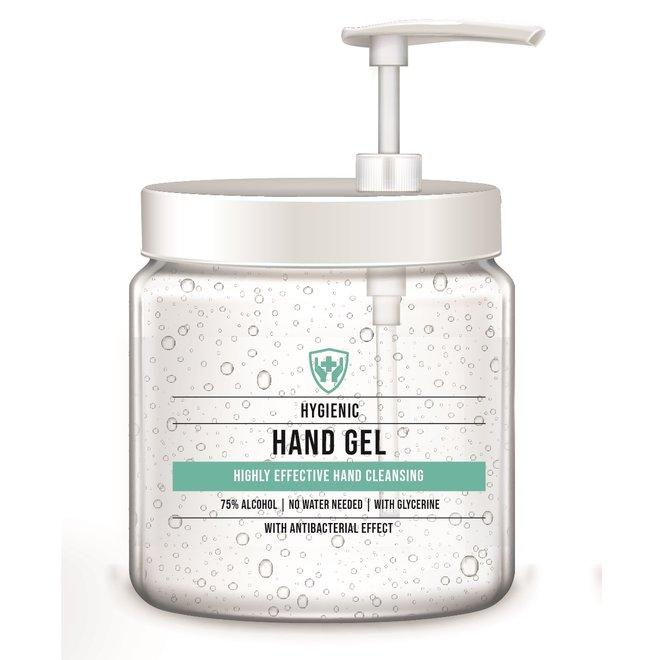 Specipack reinigende handgel 75% alcohol compleet pakket - 6 refills inclusief 2 pumps