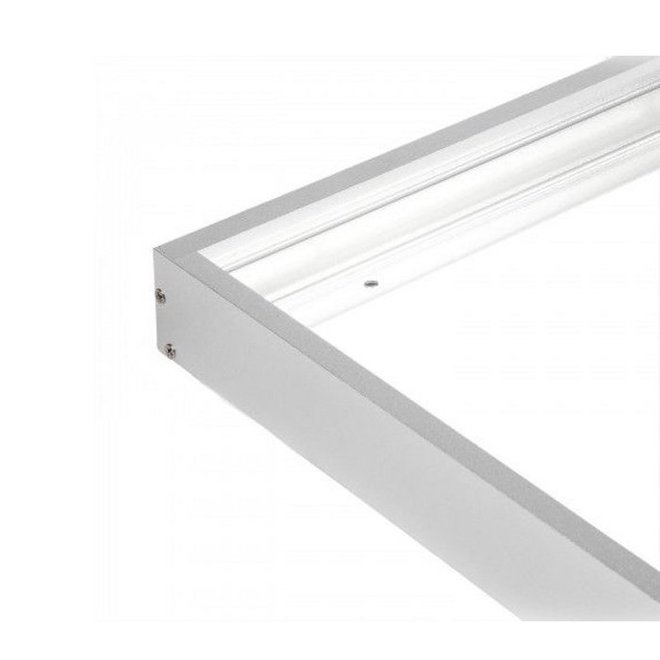 Opbouwframe LED Paneel 120 x 30 cm