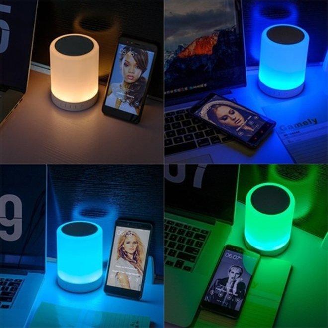 RGB LED Lamp + Speaker 2-in-1
