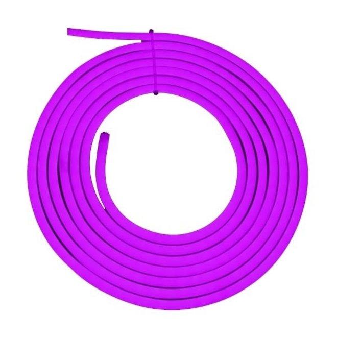 LED Neon Flex Paars 220-240V per rol van 10 meter