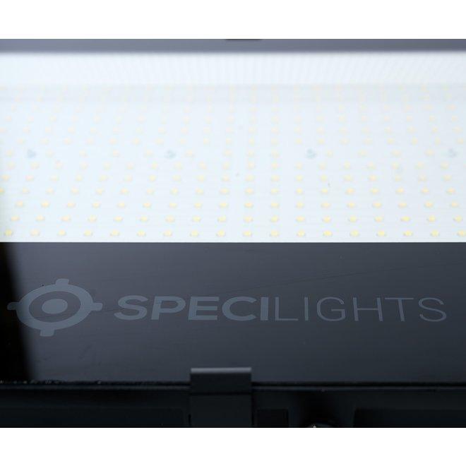 10W LED Bouwlamp Zwart - 1000 Lumen - 3000K - Waterdicht IP65 - 5 jaar garantie