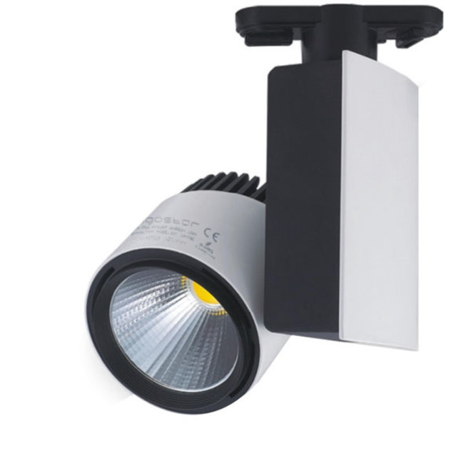 LED Railspot 23W 4000K Grijs