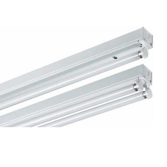 LED TL armatuur 120 cm opbouw - Kant en klaar voor één led tl buis