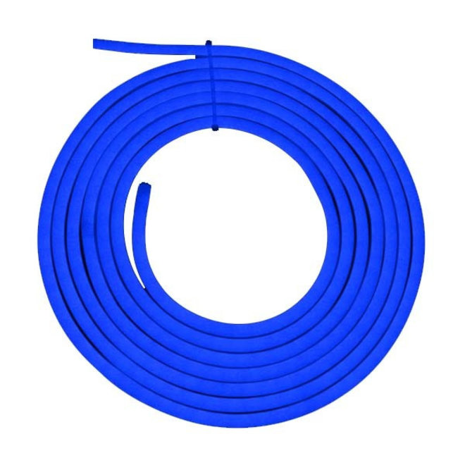 LED Neon Flex 220-240V set compleet 10 meter Blauw - Inclusief voeding en bevestigingsmateriaal