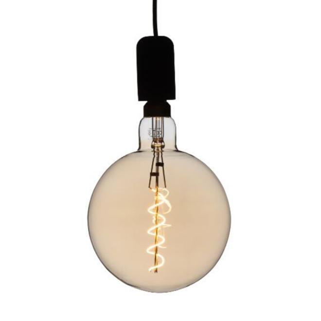 XXL Megaglobe LED 30 cm - G200 Filament lamp Goud - E27 Giant Dimbaar 6W - Oversized Giant Bulb