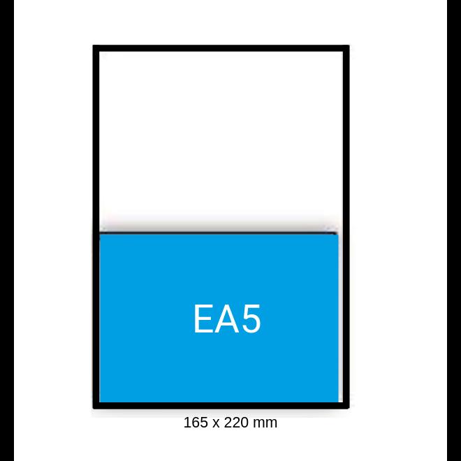 Witte envelop EA5 156 x 220 mm doos 500 stuks