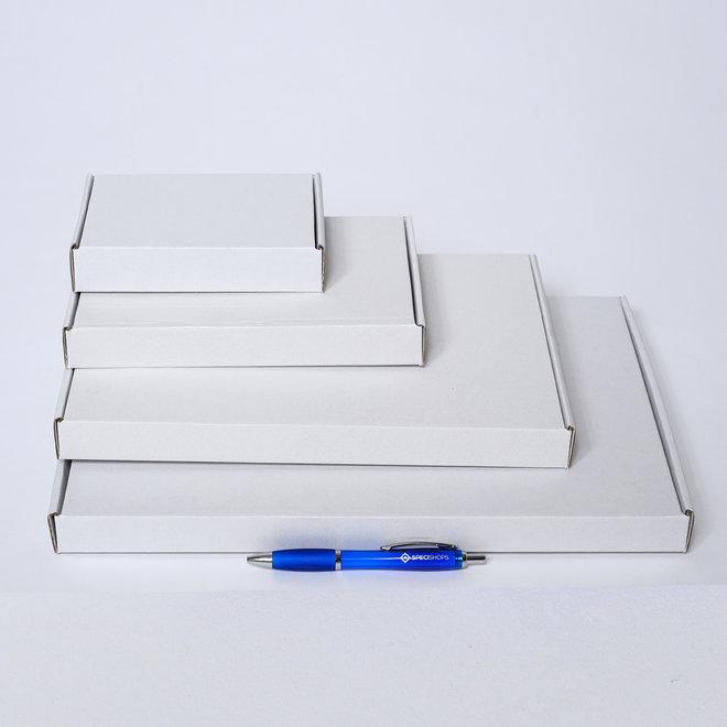 Brievenbusdoos golfkarton E-golf 310 x 215 x 30 mm A4 Wit