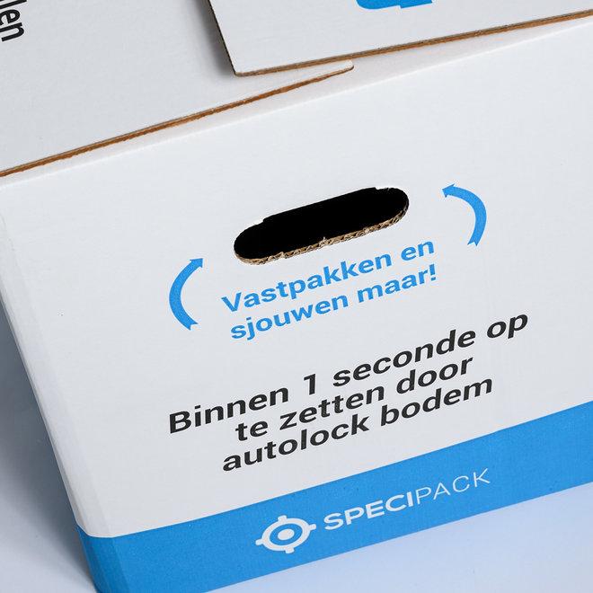 Verhuisdozen Premium - 48 x 32 x 36 cm - 20 Stuks - Autolock bodem