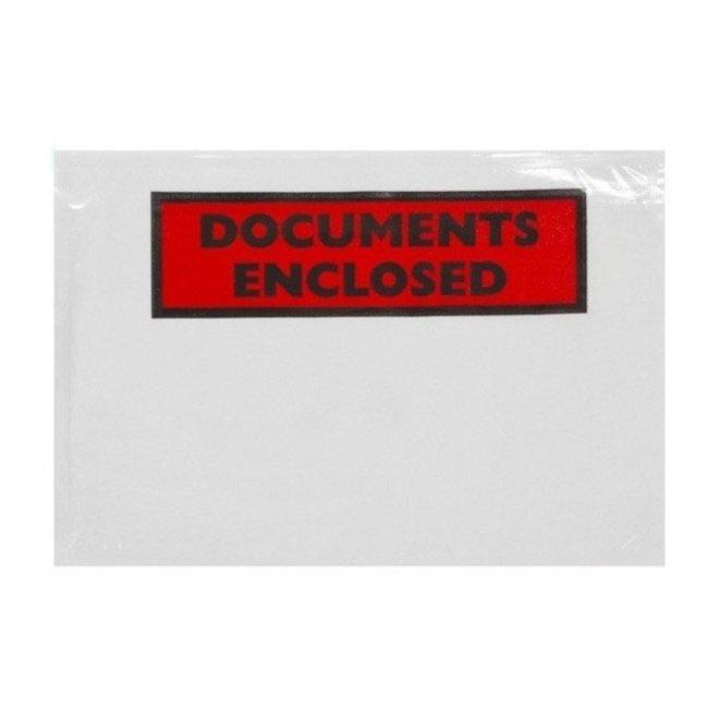 Paklijstenvelop bedrukt C4 220 x 330 mm doos 500 stuks