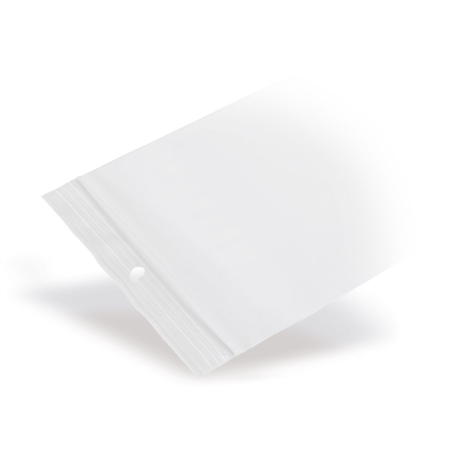 Gripzakje 60 x 80 mm transparant met druksluiting doos 1000 stuks