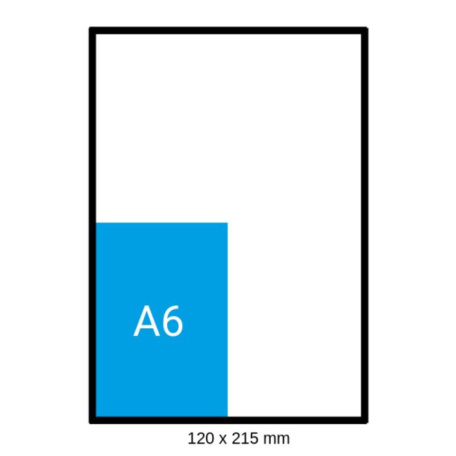 Luchtkussen enveloppen B - Bubbelenveloppen 120 x 215 mm A6  - Doos met 200 enveloppen