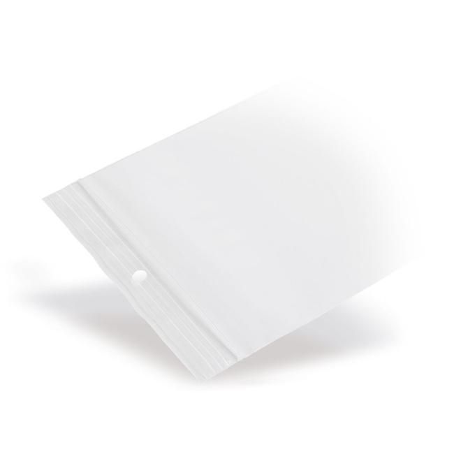 Gripzakje 190 x 250 mm transparant met druksluiting doos 1000 stuks