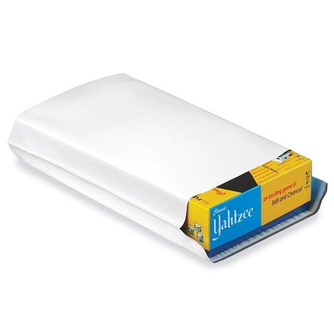Verzendzakken coex - 23 x 33 cm - Doos met 1000 verzendzakken - Wit/zwart mailer