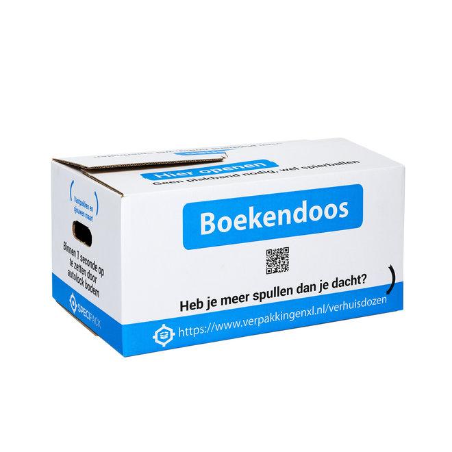 Boekendoos Premium - 35 Liter - 10 stuks - Zelfsluitend