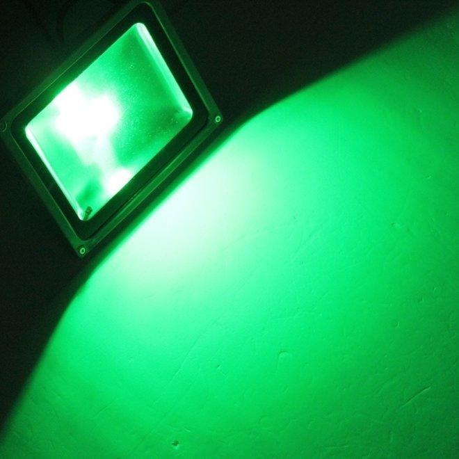 100W LED Beveiligingslamp Groen Licht