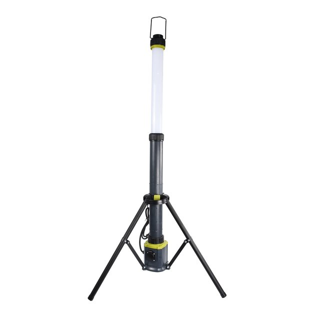 LED Kolom Werklamp 36W 360 graden 6000K op Driepoot Kolomlamp