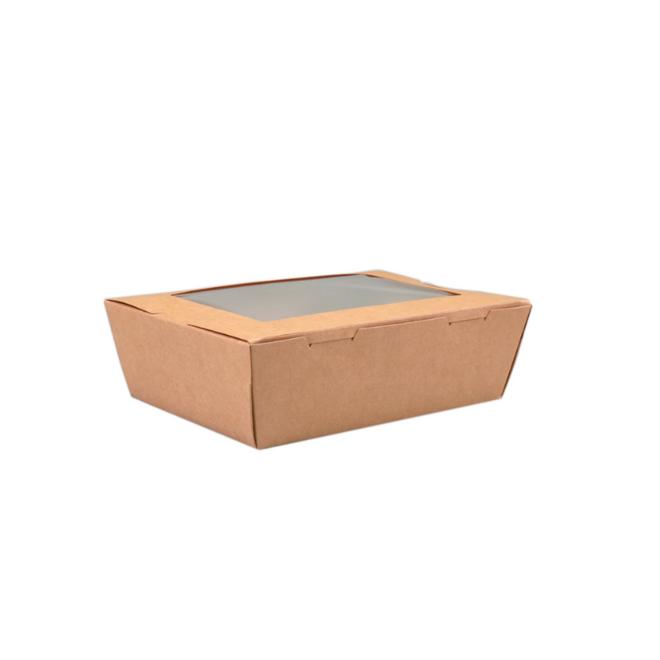 Maaltijdbox met Venster 180 x 120 x 50 mm