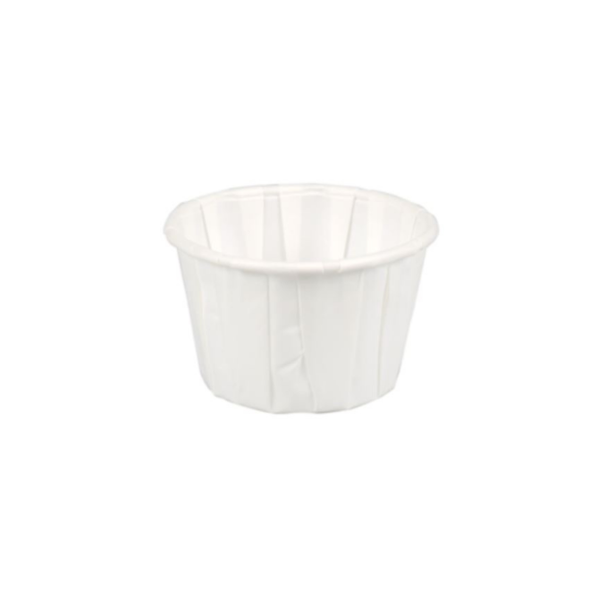 Portiecup papier - Sausbakje 55 ml