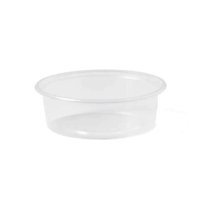 Sausbakje - 50 ml transparant