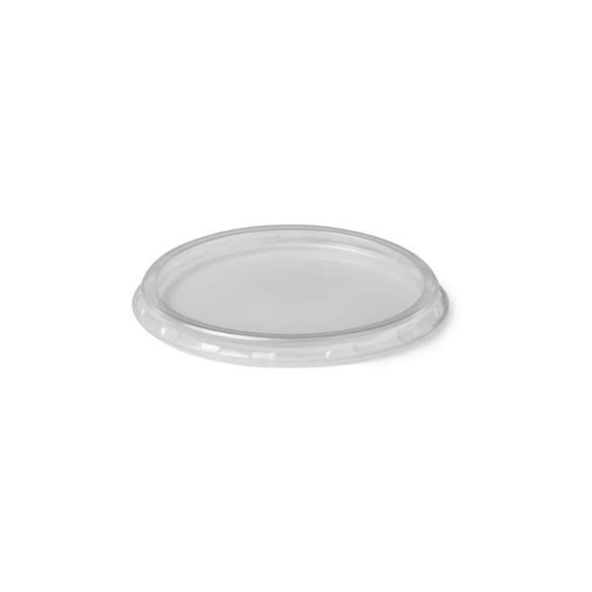 Deksel rond transparant - Ø70.3mm