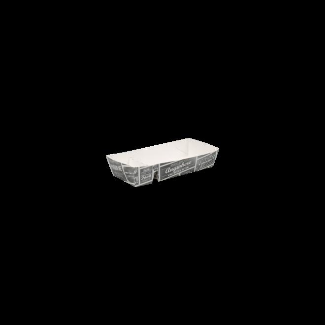 Snackbakje karton - Pubchalk 176 x 85 x 35 mm