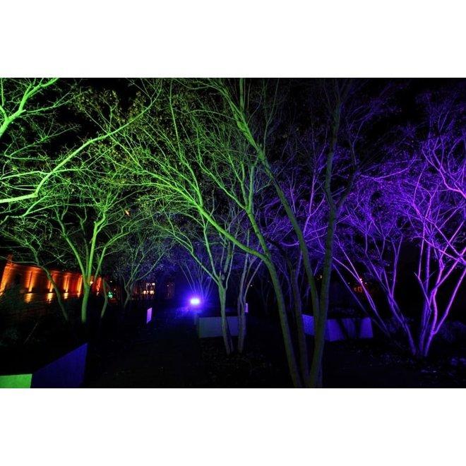 30W RGB LED Bouwlamp - Floodlight inclusief Remote - Waterdicht met 1,5 kabel en stekker