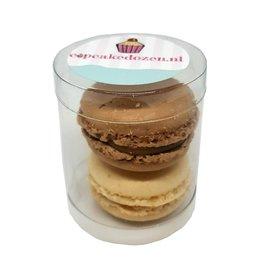 Koker voor 2 macarons (100 st.)