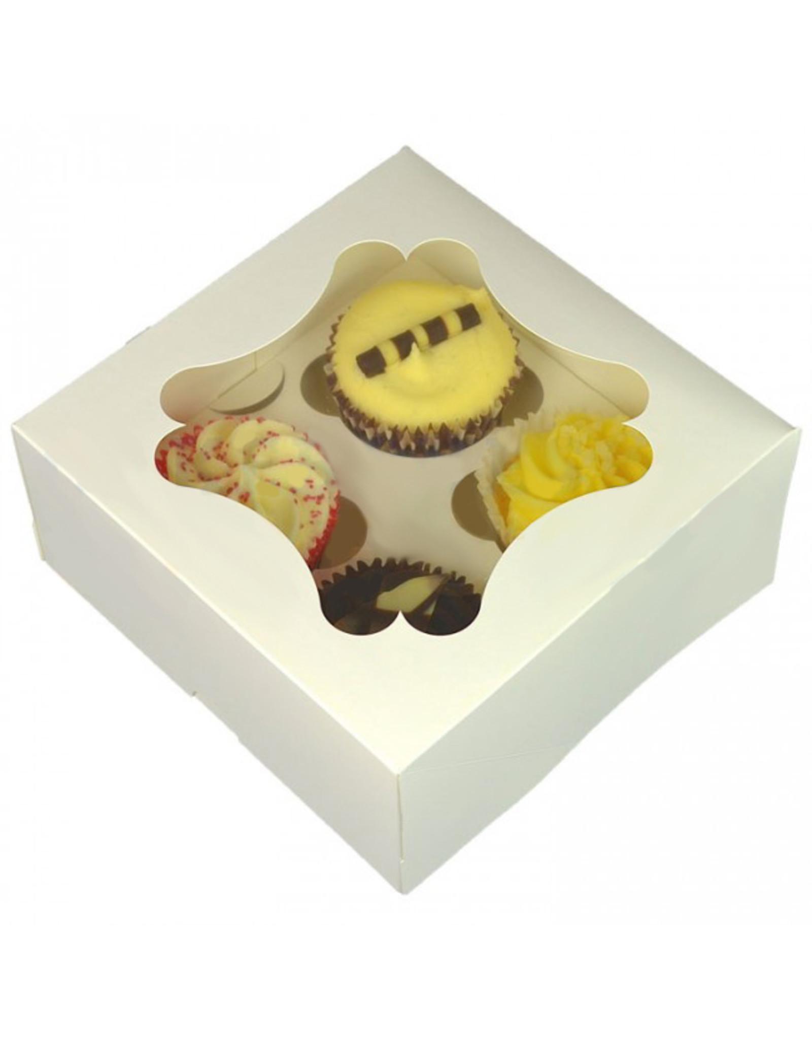Budget box for 4 cupcakes (per 25 pcs)