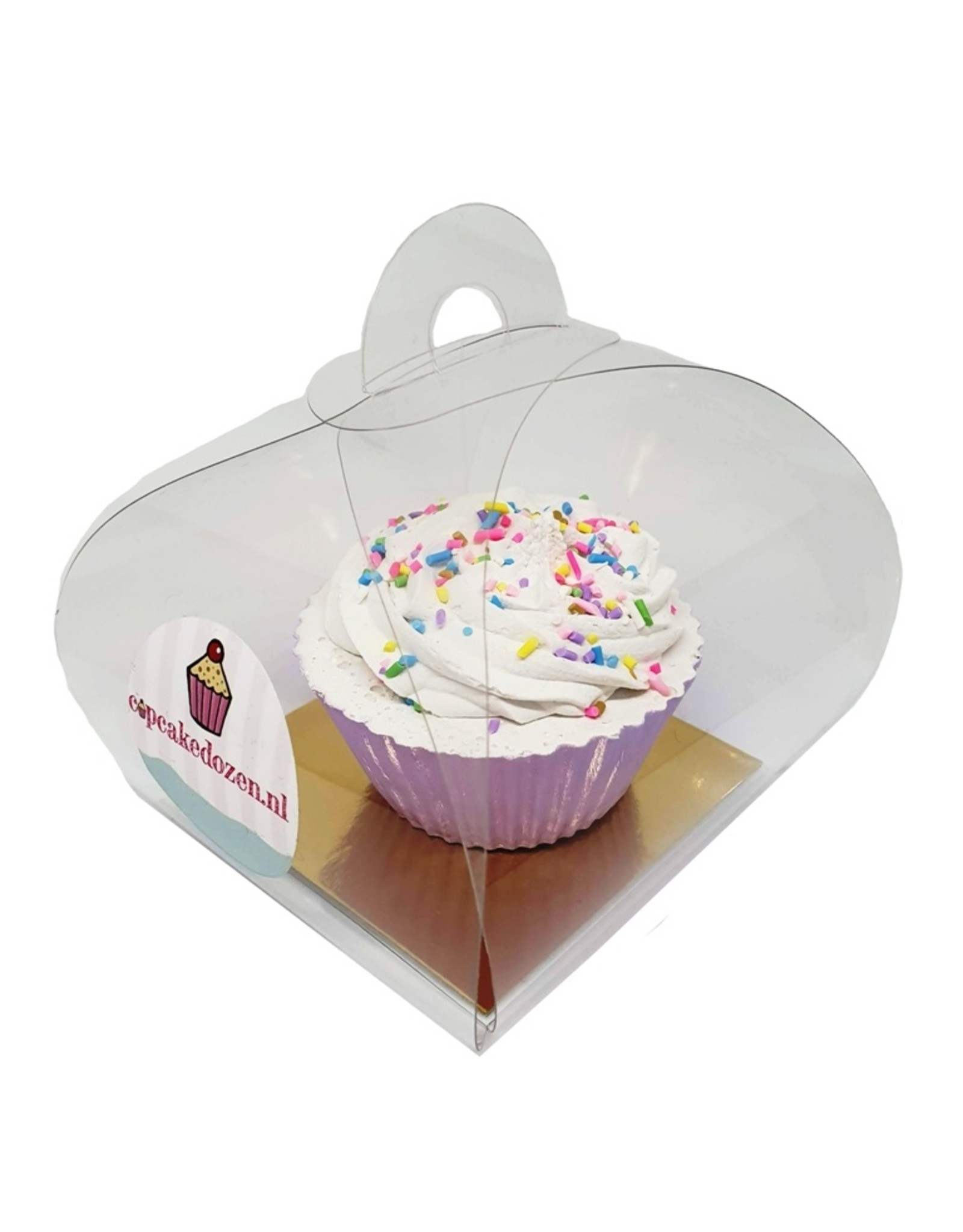 Clear bundle for 1 cupcake (per 100 pieces)