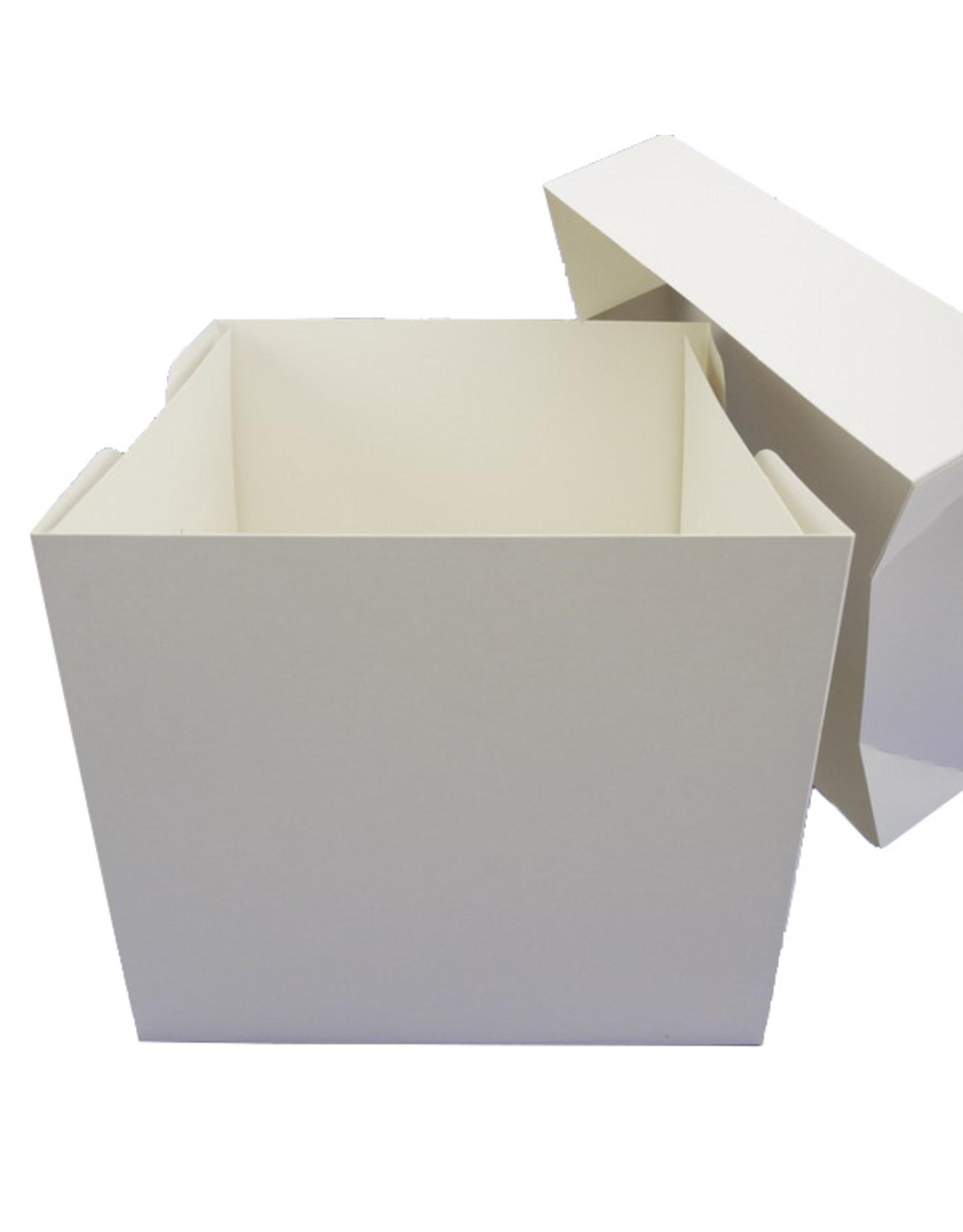 Hoge taartdoos - 28 x 28 x 25 cm (per 50 stuks)