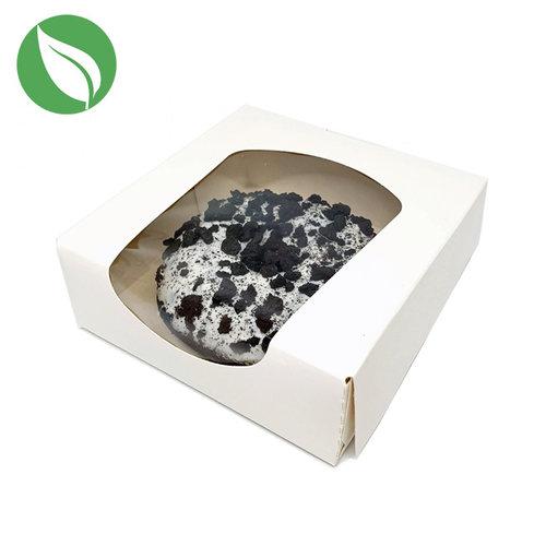 Biodegradable white box for 1 donut (250 pcs.)