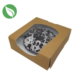 Biodegradable kraft box for 1 donut (250 pcs.)