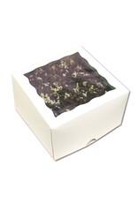 White window cake box - 31x31x15 (per 25 pieces)