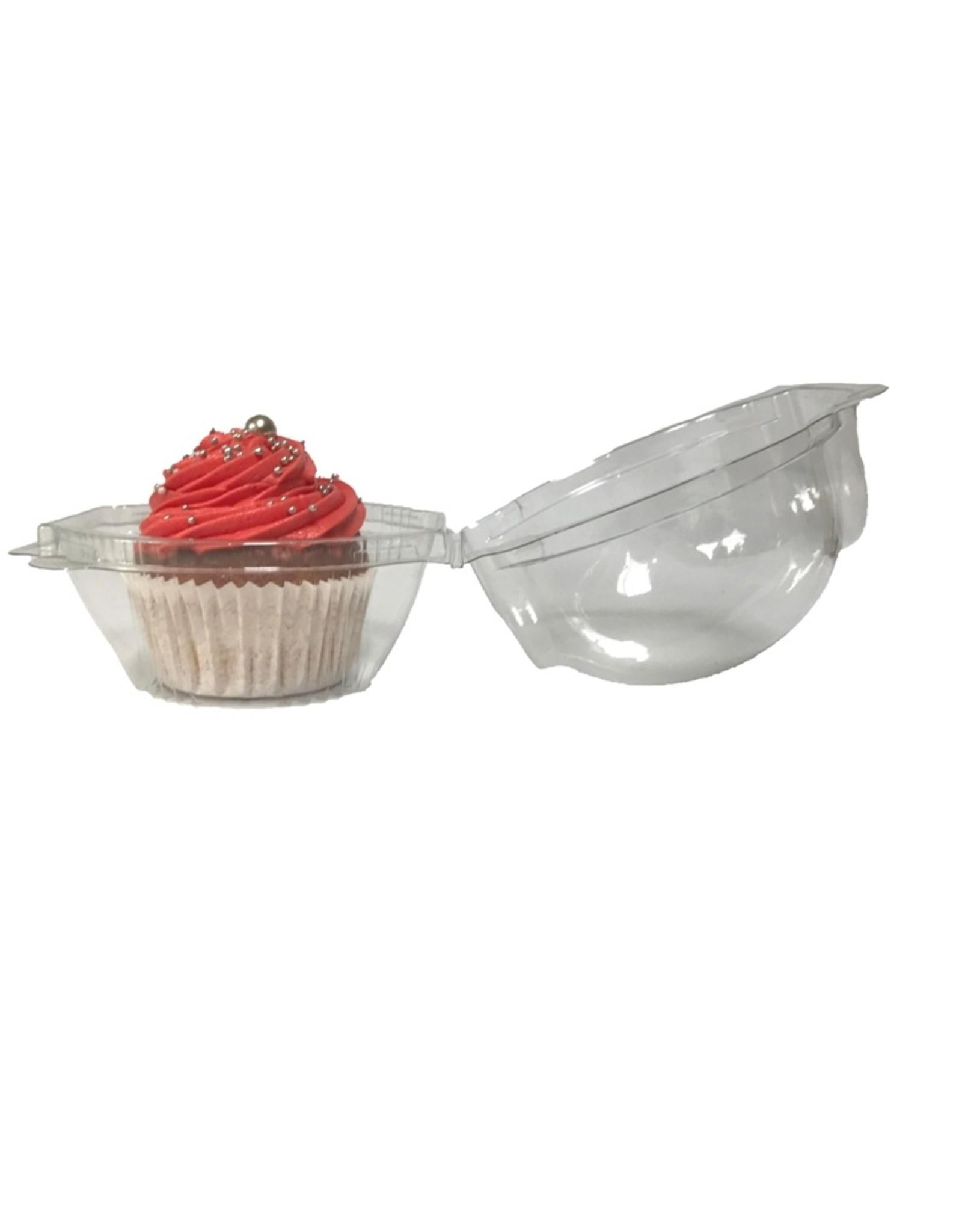 Transparent box for 1 cupcake - extra deep (per 480 pieces)