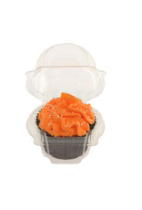 Transparante doos voor 1 cupcake (per 1260 stuks)
