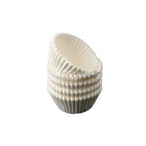 Witte mini baking cups (500 st.)
