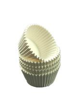 Witte baking cups - standaard formaat cupcakes (1000 stuks)