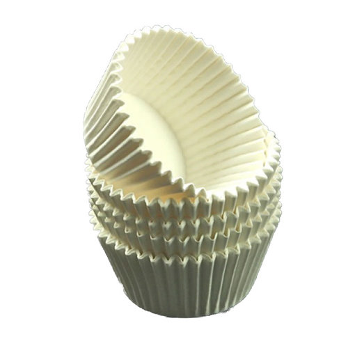 Witte baking cups (1000 st.)
