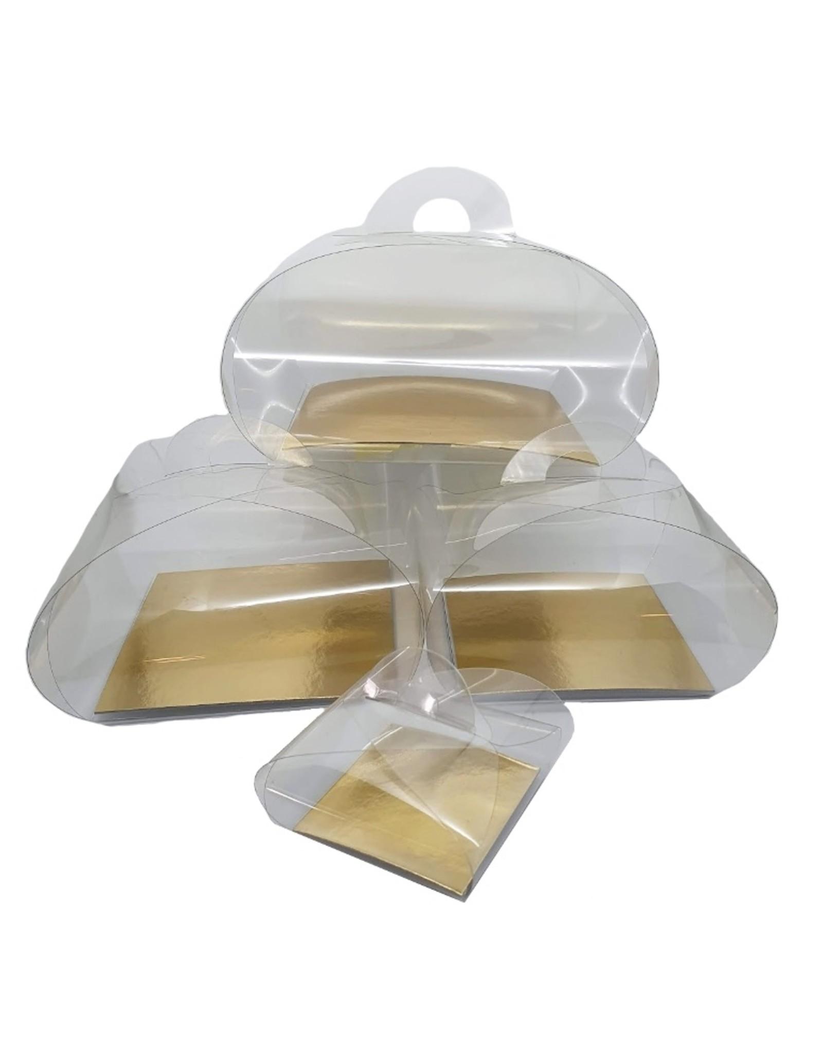 Transparante bundels - diverse maten (per 100 stuks)