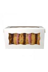 White box for 2 cupcakes (per 25 pieces)