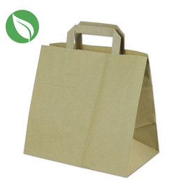 Kraft 6 cupcake paper carrier bag (400 pcs.)
