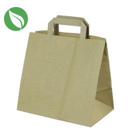 Kraft tas voor dozen van 6 cupcakes (400 st.)